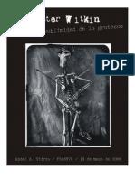 Joel-Peter Witkin y La Sublimidad de Lo Grotesco