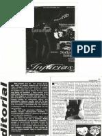 Fanzine 'Injurias' - Año 1 - Nº 2 - Setiembre 2002 - Ayacucho