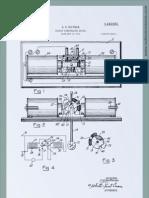 Patente máquina radiônica Oscilloclast