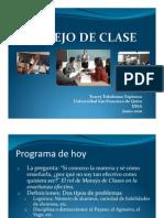 Manejo de Clases USFQ Profs Junio 2010 SP