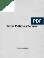 63 Textos Politicos y Sociales 2