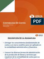 AUD-404 Contabilidad de Costos-Unidad I