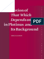 The Plotinian Notion of That Which Depends on Us in Plotinus