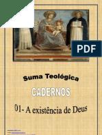 São Tomás de Aquino - A existência de Deus_caderno 01