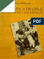 (1986) Kiekwood, Juliera - Ser política en chile  las feministas y los partidos