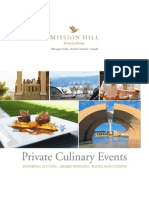 MH Group Events Brochure
