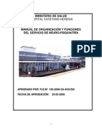 MOF Servicio de Neuro-Psiquiatria HCH