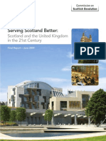 Calman Report on Scottish Devolution