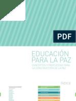Manual de Educación para la Paz