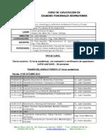 Curso Funcion Pulmonar Octubre 2012