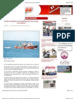 6-09-12 Periódico Express de Nayarit - Atento el gobierno al levantamiento de la veda de camarón