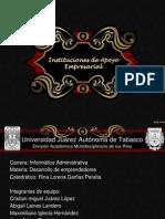 Instituciones de Apoto Empresarial