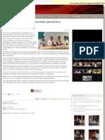 04-09-12 El sexto informe resulta ser una visión parcial de la realidad