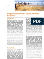 2007 06 Indigneous Water Rights in Settler Countries