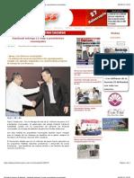 06-09-12 Periódico Express de Nayarit - Sandoval entrega 11 mdp a presidentes municipales