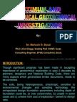 2008 Optimum and Economical Geotechnical Investigation,