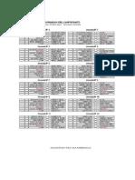Calendario 2ª División