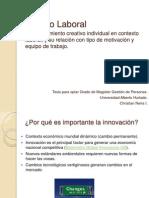 Presentación Estudio Laboral Creatividad
