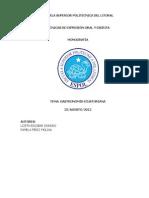 monografia GASTRONOMIA