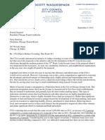 CTA Decrowding Initiative Waguespack Statement