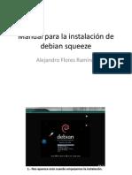 Manual para la instalación de debian squeeze