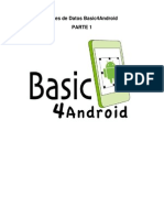 Android - Bases de Datos Basic4Android - Parte 1