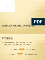 Antecedentes Del Urbanismo Parte 1