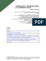 Notas sobre individuación e identidad clasista en el capitalismo actual _ Osvaldo Blanco