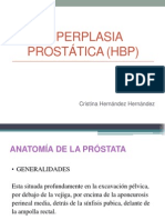 Hiperplasia  prostática
