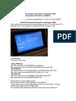 Instalando Windows XP Desde Un Dispositivo USB