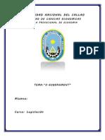 Monografia de Legislacion (E-government)