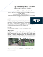 Analysis Of A Deterministic Jong Nang Gate With Transmitter Cooperation