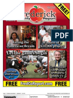 Frederick County Report,  September 7 - 20, 2012