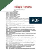 Cronologia Romana
