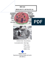 Cell Bio Lab Manual