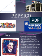 Overview of Pepsico Company