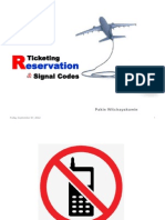 10 Ticketing Reservation & Signal Codes