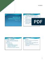 Orientation 2012 Handouts