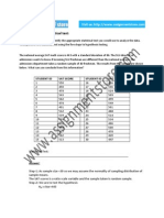 SPSS Solution for Statistical Test