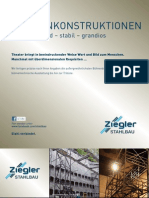 Ziegler Stahlbau Bünenkonstruktionen