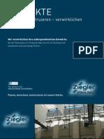 Ziegler Stahlbau Projekte