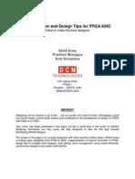 SNUG Design Tips Paper