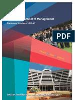 VGSOM Placement Brochure 2012-13_Final