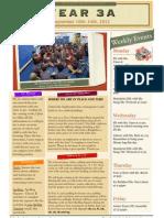 week 4 newsletter 091012