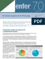 Nota Enter 70 - El incierto negocio de la TV de pago