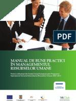 1. Manual Bune Practici HR Club Editia 1 2010