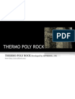 Thermo Poly Rock