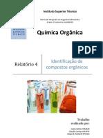Identificação de Compostos Orgânicos