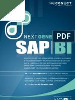 Next Generation SAP BI 2012_agenda