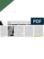 Il Fmi appoggia Francoforte